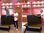 Illusionist Darcey Oake makes Good Morning Britain host Kate Garraway DISAPPEAR live on air