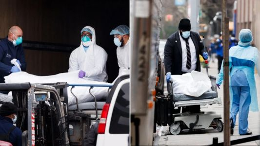 US overtakes China in coronavirus deaths after 3,400 die of Covid-19
