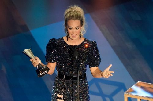 Carrie Underwood continues historic reign as top CMT music awards winner with two more gongs