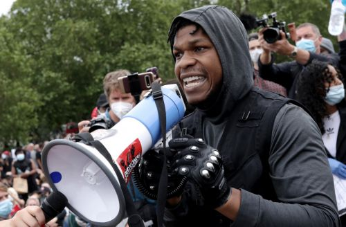 John Boyega speech: What did the Star Wars actor say at the Black Lives Matter protest?