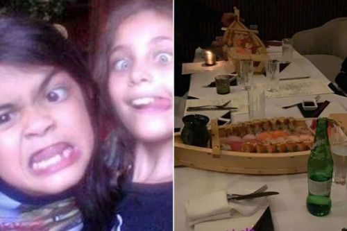 Michael Jackson's son Blanket celebrates 18th birthday with siblings in swanky sushi bar