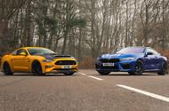 BMW M8 Competition vs 825bhp Ford Mustang review: Europe v USA showdown