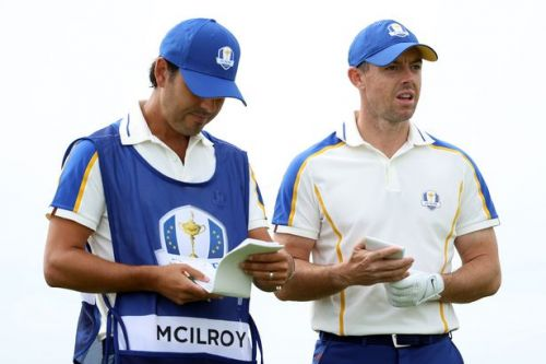 Rory McIlroy inconsolable with Europe on brink of Ryder Cup humiliation against USA