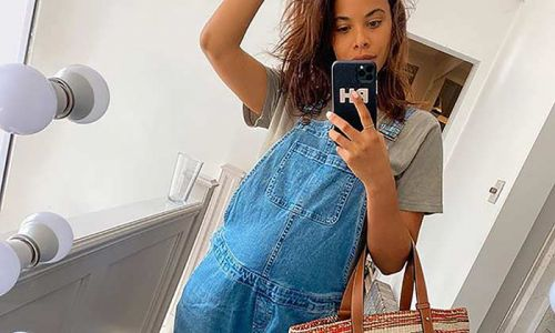 Rochelle Humes reveals concerns for baby boy following 4D scan