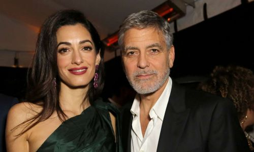 George and Amal Clooney's £12m Berkshire home surrounded by floodwater after Storm Dennis