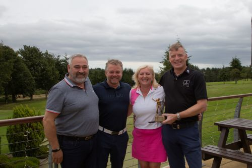 Fundraising golf tournament a big success for Aberdeenshire club