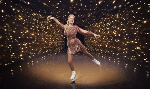 Dancing On Ice 2021: Denise van Outen skates through shoulder pain in show opener