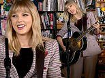 Taylor Swift trades stadiums for the NPR studio in an intimate acoustic Tiny Desk Concert