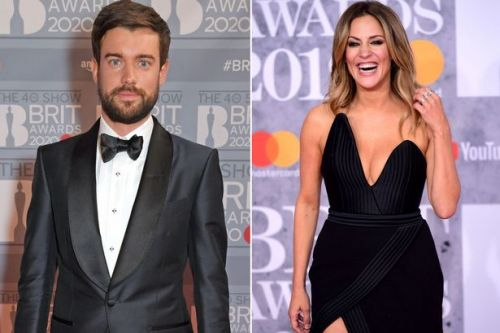 BRITs host Jack Whitehall pays emotional tribute to Caroline Flack at ceremony