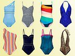 Staycation stunners: FEMAIL picks out the best one-piece swimsuits for effortless style this summer