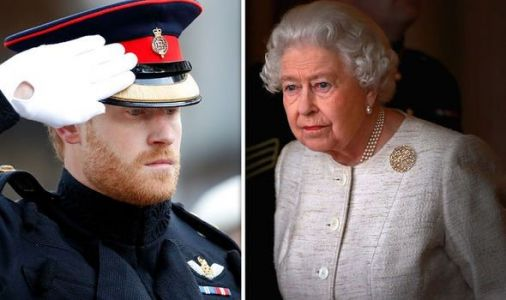 Prince Harry alludes to 'sensitive issue' with Queen regarding military titles - expert