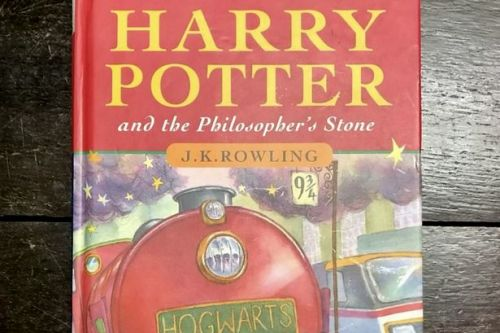 Dad stunned as old Harry Potter book is set to scoop £30k at auction
