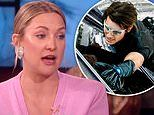 Kate Hudson recalls the time Tom Cruise scaled an 8-ft gate at her parents' house to crash a party