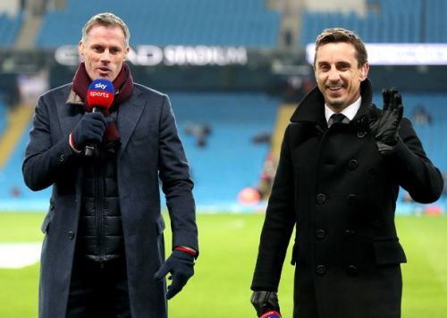 Gary Neville and Jamie Carragher make top four predictions - at Chelsea's expense