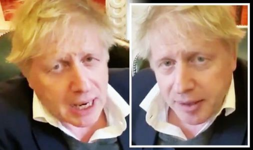 Boris vows UK will ramp up coronavirus testing 'to unlock puzzle' in video from isolation