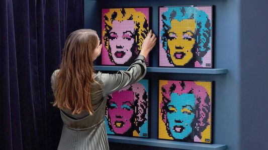 Lego finally enters the art world with new 2D poster sets