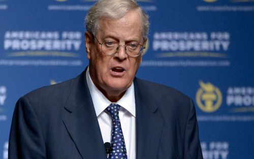 US billionaire and conservative activist David Koch dies at age 79