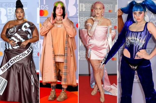 BRIT Awards 2020: Most outrageous red carpet looks as Lizzo steals the show