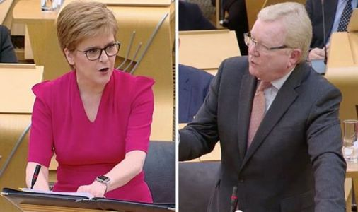 'Time's up!' Nicola Sturgeon faces calls to GO as SNP attacked for '13 years of failure'