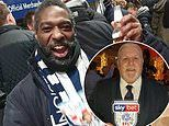 Football fan donates his ticket to homeless man who'd never seen his beloved West Brom play