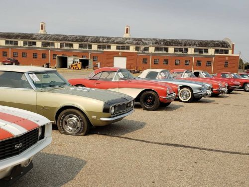 A Kansas business magnate's secret collection of more than 130 antique cars hidden in barns just sold for $2.5 million - see 16 of the priciest vehicles