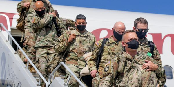US officials reveal plans to move troops out of Europe as Trump hammers Germany over defense spending