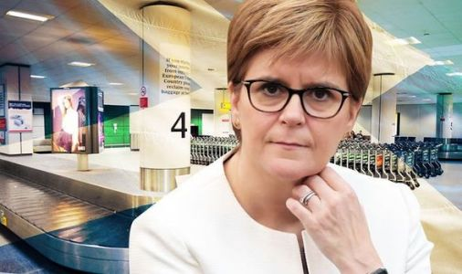 Scotland hasn't carried out a SINGLE border isolation check despite Sturgeon's fury at PM