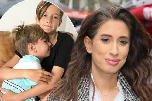 Stacey Solomon hits back at critics of her 'alternative family set up' as sons Zachary and Leighton prepare for holiday with dads: 'We are not a broken family'