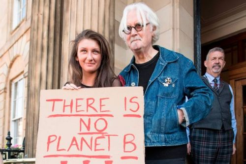 Billy Connolly at Glasgow protest as millions march across globe for climate change