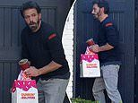 Ben Affleck treats himself to Dunkin' Donuts as he continues to cope with Ana de Armas breakup