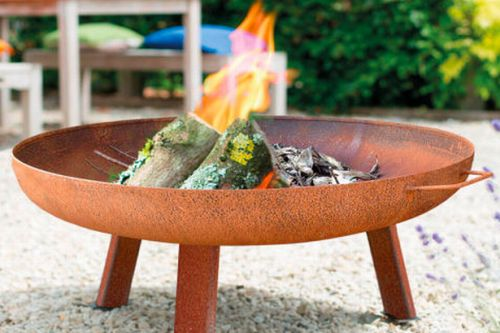 Aldi adds new fire pit to garden range - and it's only £29.99