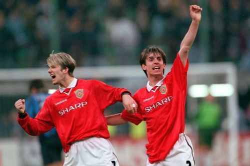 Beckham, Scholes, Neville wages when they signed first pro Man Utd deal
