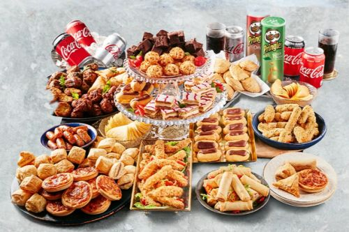 Iceland's huge 150 piece party food bundle costs £15 and can feed 15 people