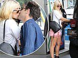Emma Slater smooches husband and fellow Dancing With The Stars pro Sasha Farber