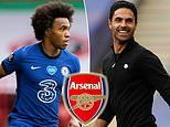 Willian 'agrees three-year Arsenal deal on £100k a week' on free transfer from Chelsea