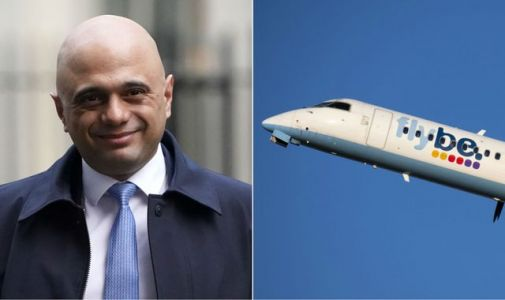 Sajid Javid to reject Ryanair legal threat over Flybe 'bailout'