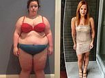 Obese woman sheds 12 stone after ditching her toxic ex