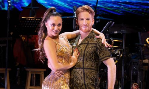 Strictly Come Dancing's Katya and Neil prove they're still close despite split as they compare notes