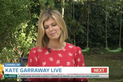 Kate Garraway makes emotive return to GMB admitting Derek 'may not recover'
