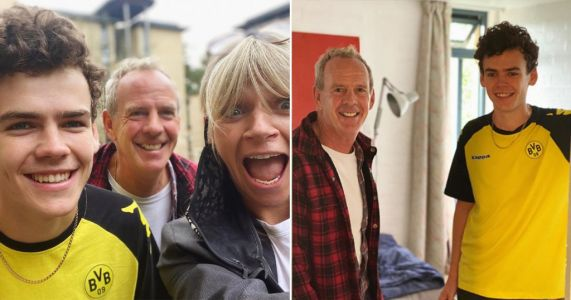 Zoe Ball and Fatboy Slim emotional as they drop son Woody to uni: 'Proud mama'