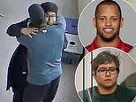 Video shows the moment hero coach disarms Parkrose High School gunman before hugging him