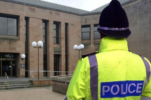 Ayrshire man who assaulted two police officers and branded one a rapist dodges jail