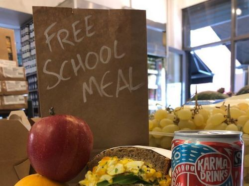London Restaurants Take Their Support for Free School Meals to Instagram