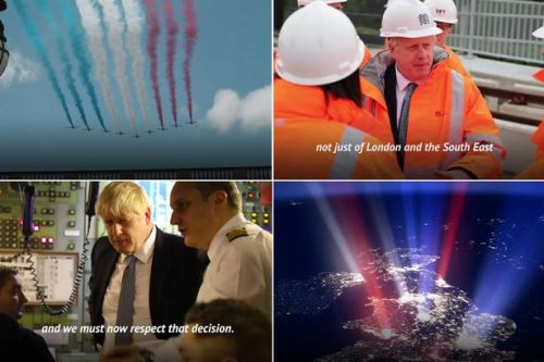 Boris Johnson goes full Donald Trump with epic 'propaganda' video on Brexit