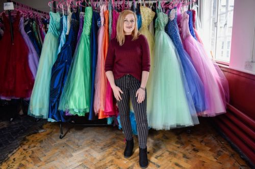 Student sets up store loaning free prom dresses to girls who can't afford them