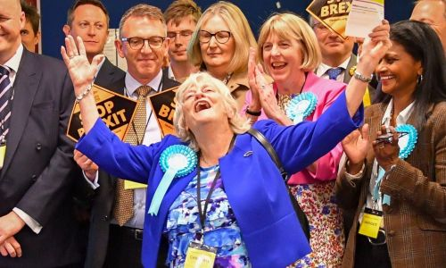 Ann Widdecombe back in politics as newly elected Brexit Party MEP