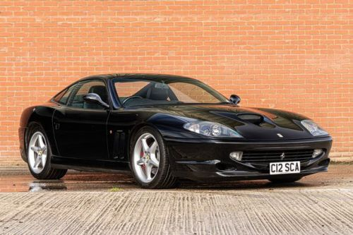 Watch special Ferrari 550 Maranello that's up for sale
