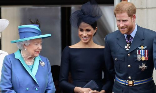 The Queen making private home visits to Prince Harry and Meghan Markle to help them cope