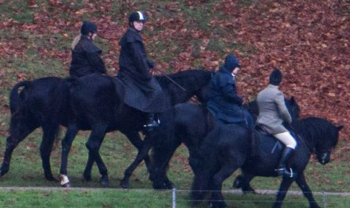 Prince Andrew and Queen out horse riding as charities' reviews continue