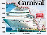 Carnival cruises launches £4.8bn cash call